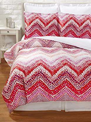 Trina Turk Chevron Dots Duvet Cover Set