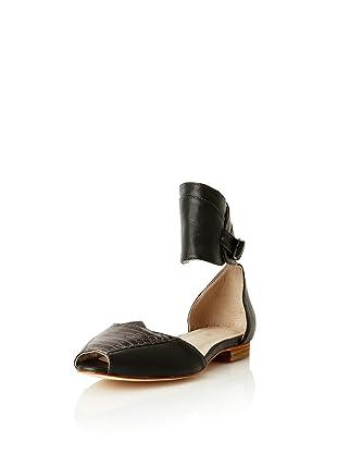 Plomo Women's Georgina Ankle Cuff Sandal (Grey)