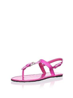 China Doll Girl's Kendra Sandal (Toddler/Little Kid/Big Kid) (Hot Pink)