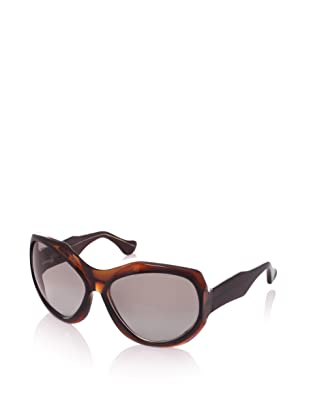 MARNI Women's MA101S Sunglasses, Smoke/Blue