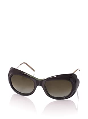 MARNI Women's MA128S Sunglasses, Palm/Emerald