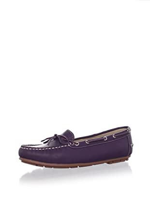 W.A.G. Kid's Moccasin with Tie Detail (Purple)