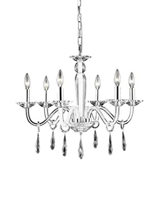 Crystal Lighting Avalon Chandelier (Crystal/White)