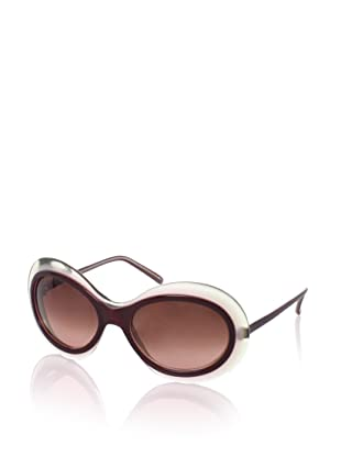 MARNI Women's MA121S Sunglasses, Dark/Pink