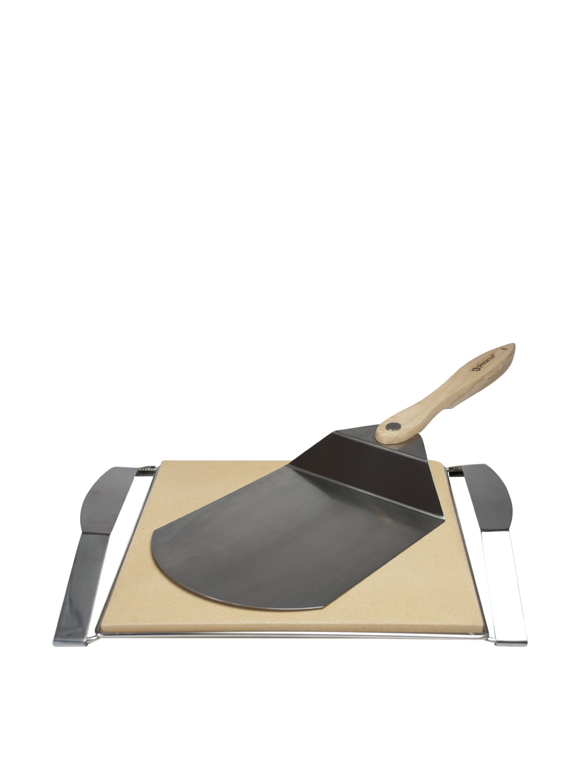 Pizzacraft Pizza On The Grill: Deluxe Grill-To-Table Set (Stone)