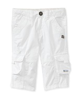 KANZ Boy's Cropped Pants (White)