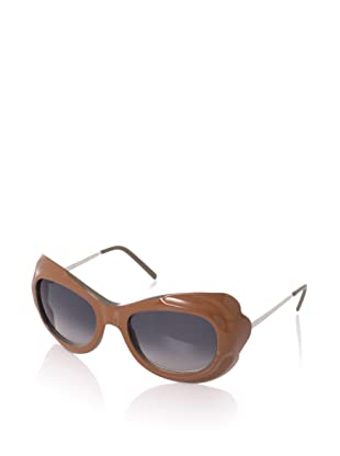MARNI Women's MA128S Sunglasses, Grey/Petroleum