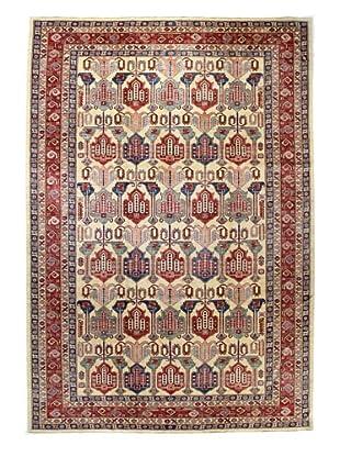 Bashian Fine Kazak Rug, Ivory, 8' 9