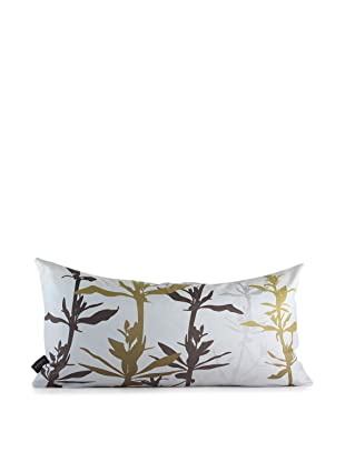 Inhabit Wildflower Pillow (Charcoal/Olive)