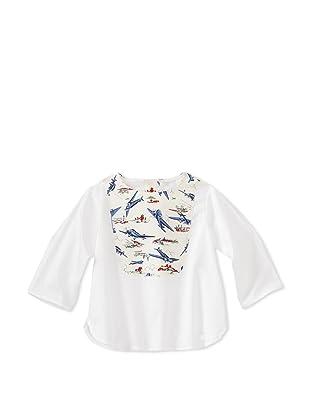 Je suis en CP! Boy's Plastron Shirt (Planes)