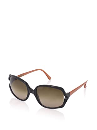 MARNI Women's MA060S Sunglasses (Black/orange)