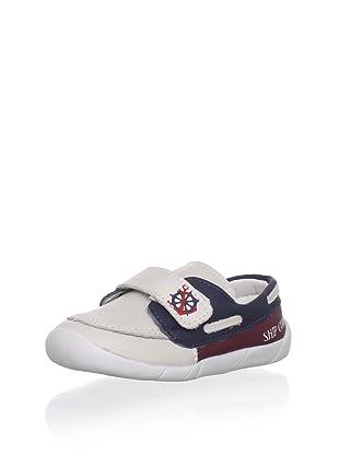 Ortopasso Kid's Slip-On Loafer (Ice/Red)