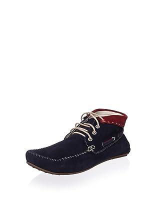 Bacco Bucci Men's Ossola Shoe (Blue/Red)