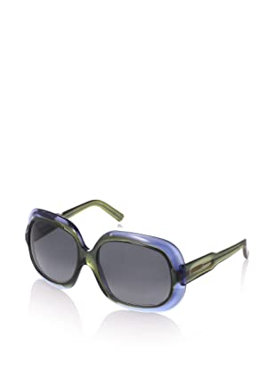 MARNI Women's MA122S Sunglasses, Grey/Mustard