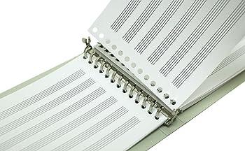 B-TAOパッド(カード) 五線紙 6段 2冊組