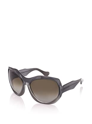 MARNI Women's MA101S Sunglasses, Shaded Dark Green