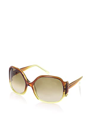 MARNI Women's MA084S Sunglasses (Shaded Ochre/Yellow)