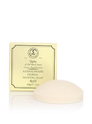 Taylor of Old Bond Street Sandalwood Hard Shaving Soap Refill, 2 Pack