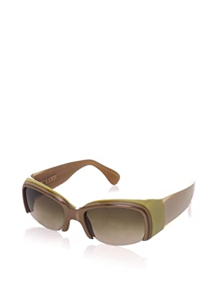 MARNI Women's MA125S Sunglasses, Brass/Mink