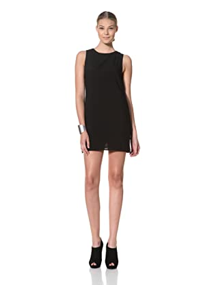 FACTORY by Erik Hart Women's Dress with Cutout Back (Onyx)