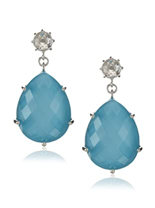 Anzie Quartz Jolie Earrings , Turquoise and Silver