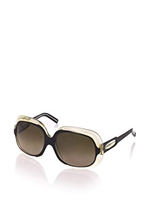 MARNI Women's MA122S Sunglasses, Black/Transparent