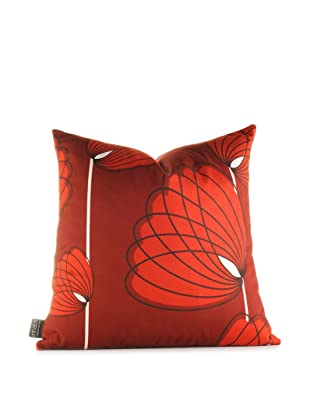 Inhabit Lotus Pillow (Scarlet)