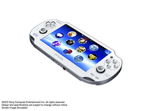PlayStation Vita (プレイステーション ヴィータ) 3G/Wi‐Fiモデル クリスタル・ホワイト (限定版) (PCH-1100 AB02)