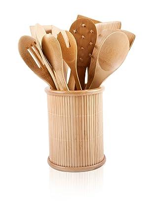 Core Bamboo Classic 14-Piece Kitchen Utensil Set (Natural)