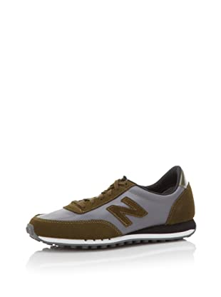 HKNB Heidi Klum for New Balance Women's 410 Sneaker (Castle Rock/Olive)