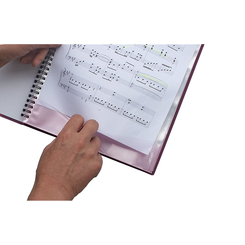 楽谱ファイル FREE FILE Super Note リング式 深蓝色 music 音乐文