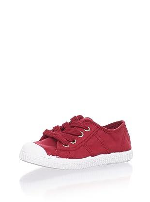 Cienta Kids Sneaker (Burgundy)