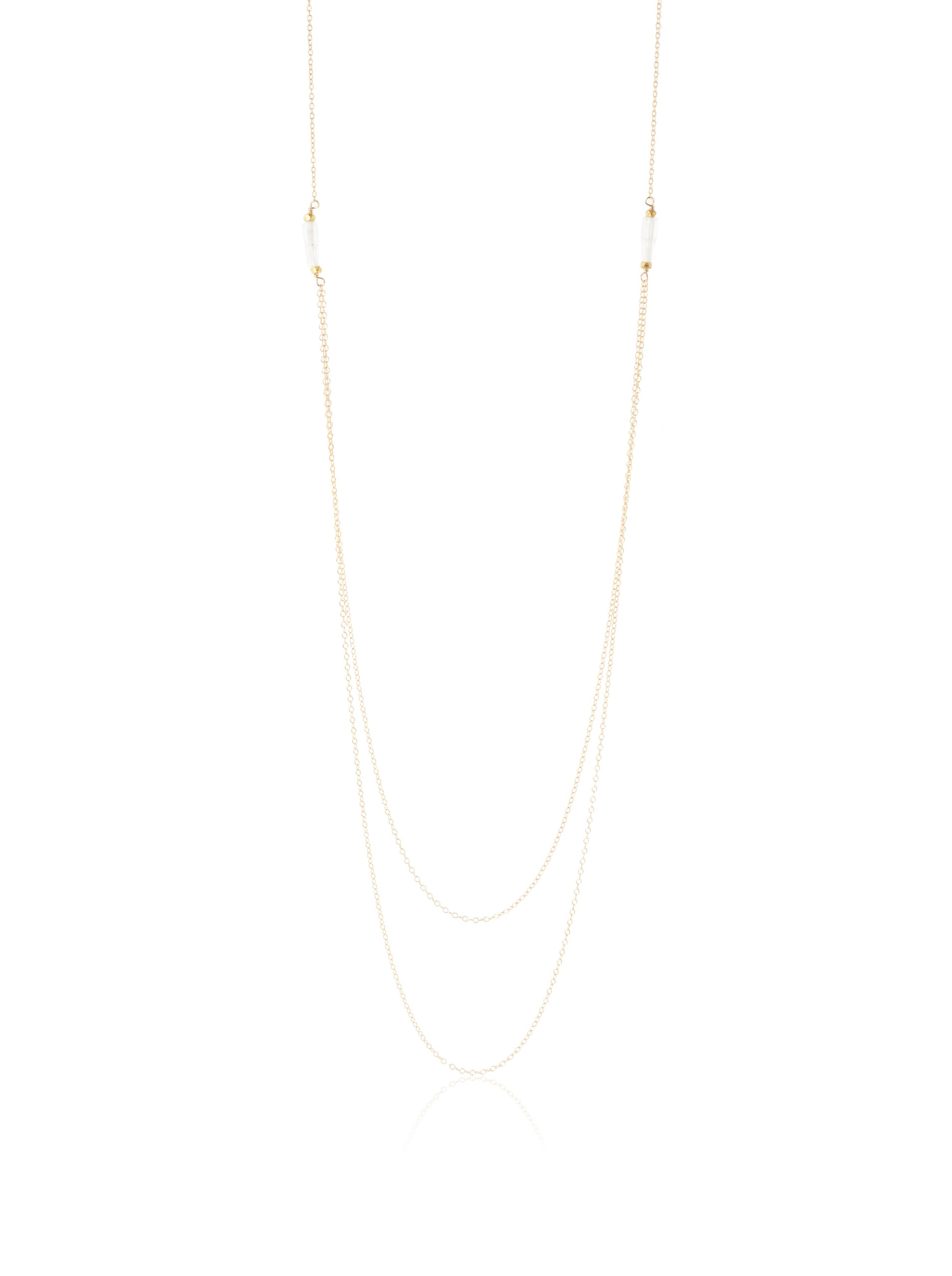 gorjana Richmond Layered Necklace, Gold