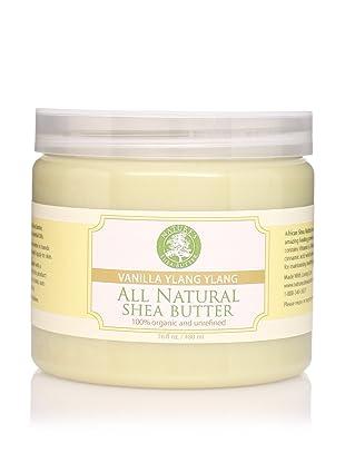 Nature's Shea Butter Vanilla Ylang Ylang Shea Butter, 16 oz