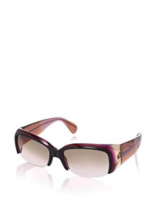 MARNI Women's MA124S Sunglasses, Brown/Cyclamen