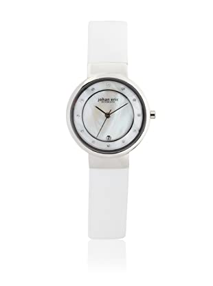 Johan Eric Women's JE6000-04-009 Arhus White Date Watch