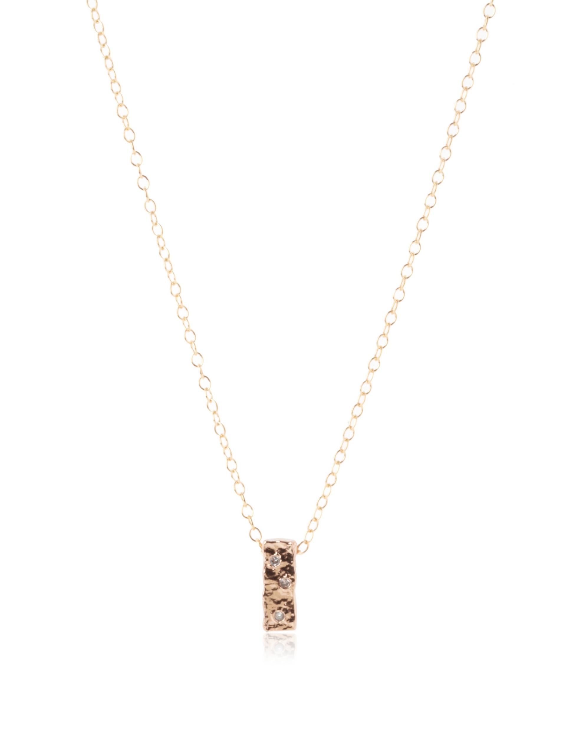 gorjana Merced Necklace, Rosegold