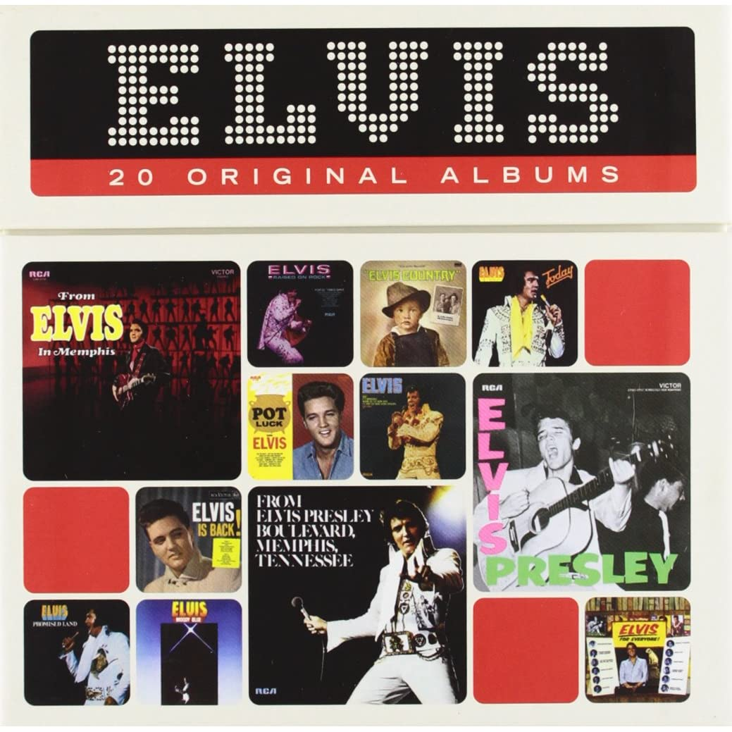 Elvis Presley The Perfect Elvis Presley Collection 20 Cd Box Set