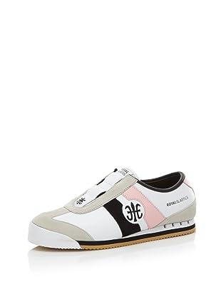 Royal Elastics Women's Majesty Sneaker (White/Powder Pink)