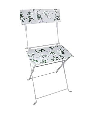 Esschert Design Herb-Print Bistro Chair,Multi