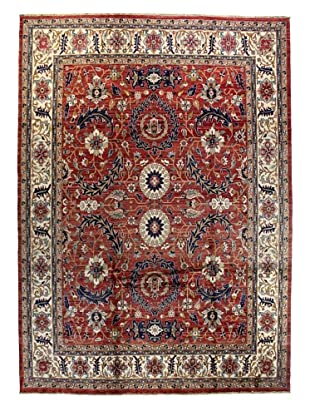 Bashian Rugs One-of-a-Kind Hand Knotted Multan Rug, Red, 9' x 12' 5