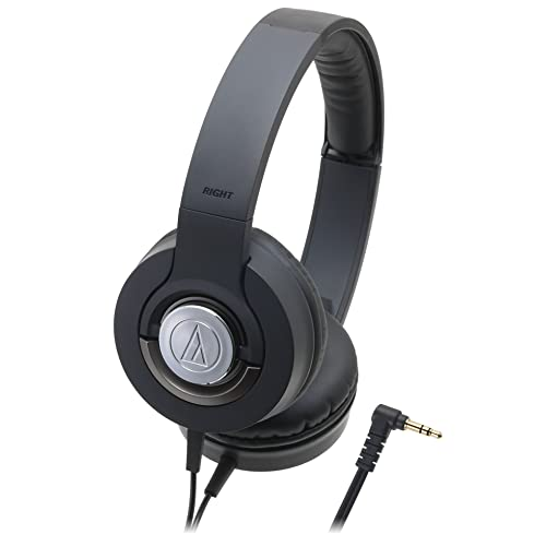 audio-technica SOLID BASS ATH-WS33X BLACKの写真01。おしゃれなヘッドホンをおすすめ-HEADMAN(ヘッドマン)-