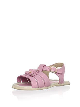 Ortopasso Kid's Embellished Sandal (Rose)