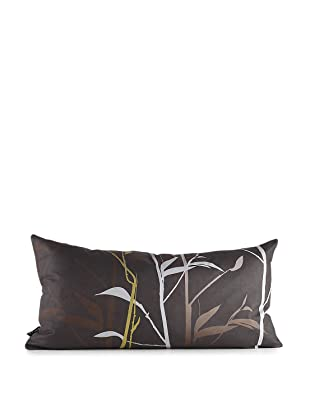 Inhabit Tall Grass Pillow (Charcoal/Olive)