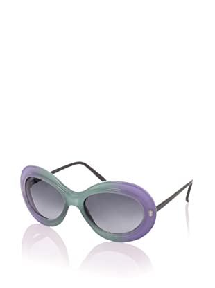 MARNI Women's MA121S Sunglasses, Green/Wisteria