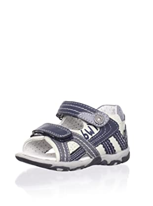 Billowy Kid's Dual Strap Sport Sandal (Blue)