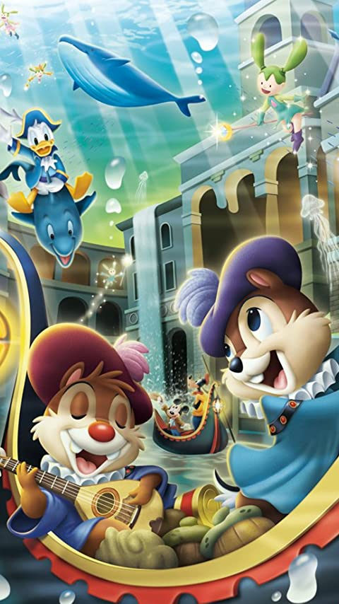 チップとデール. ディズニー XFVGA(480×854)壁紙アニメ画像12257 スマポ