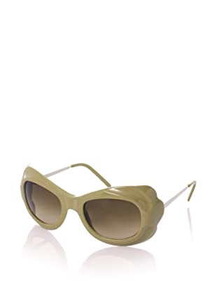 MARNI Women's MA127S Sunglasses, Aloe/Rope