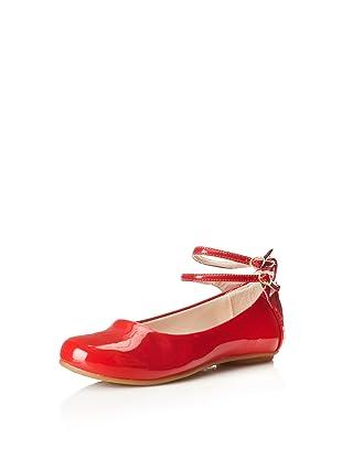 Pampili Kid's Angel 510 Ballet Flat (Red)
