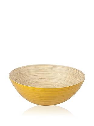 Core Bamboo Extra Large Modern Round Bowl (Squash)